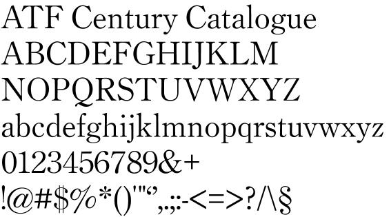 Fonts in progress